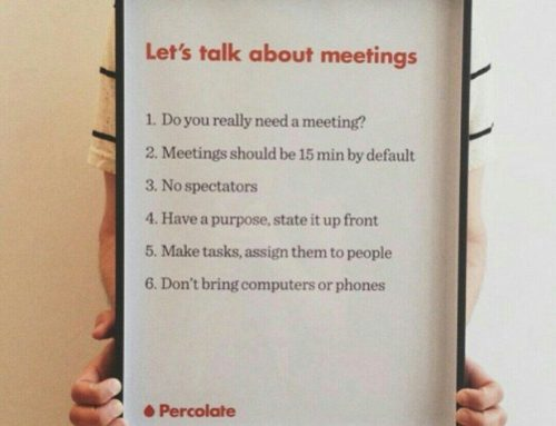 Let's talk about meetings