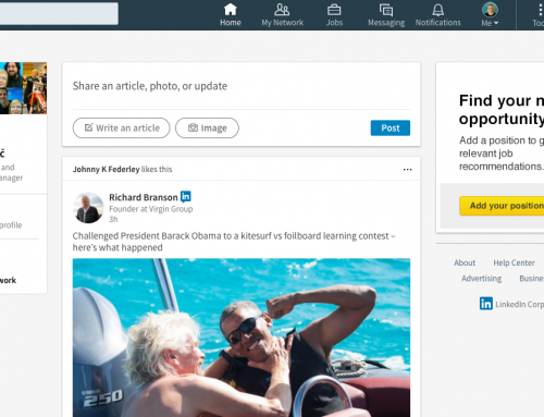Kako uporabljati poslovno omrežje LinkedIn?